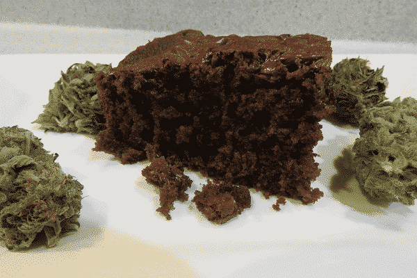 Chocolate Zucchini Space Cake