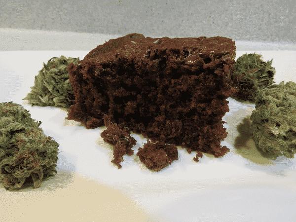 Chocolate Zucchini Space Cake