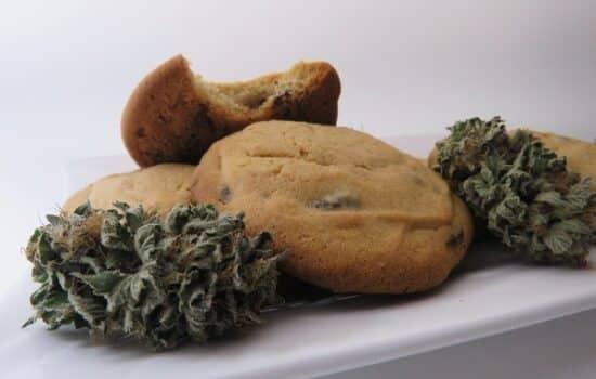 Infused Honey Chocolate Chip Cookies