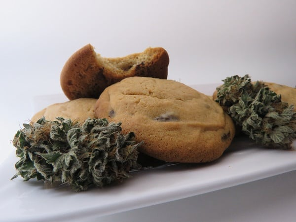 Infused Honey Chocolate Chip Cookies