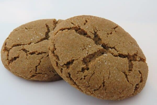 Cannabis Ginger Snap Cookies