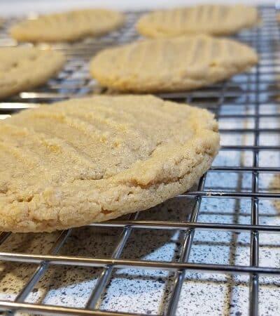 Cannabis Peanut Butter Cookies Gluten Free