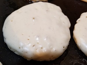Wake and Bake Cannabis Pancakes Bubbles