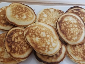 Wake and Bake Cannabis Pancakes Yields 10 Pancakes